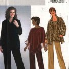 Butterick Sewing Pattern 4303 Womens Plus Size 18W-24W Easy Wardrobe Poncho Shirt Top Pants