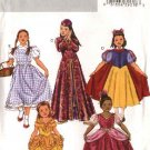Butterick Sewing Pattern 4320 Girls Size 2-5 Classic Character Costumes Snow White Dorothy Dress