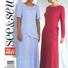 Butterick Sewing Pattern 4324 Misses Size 20-22-24 Easy Pullover Top Skirt Two-Piece Dress