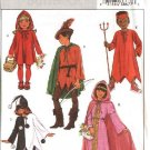 Butterick Sewing Pattern 4319 Boys Girls Size 4-14 Easy Costumes Red Riding Hood Devil Robin Hood