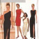 Butterick Sewing Pattern 4343 Misses Size 6-12 Easy Long Short Formal Straight Dress Gowns