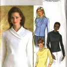 Butterick Sewing Pattern 4347 Misses Size 16-22 Easy Knit Pullover Long Sleeve Top