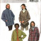 Butterick Sewing Pattern 4351 Misses Size 16-22 Easy Button Front Jacket Pullover Long Sleeve Top