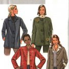Butterick Sewing Pattern 4353 Misses Size 4-14 Easy Button Front Unlined Long Sleeve Jacket