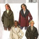 Butterick Sewing Pattern 4354 Misses Size 16-22 Easy Button Toggle Front Long Sleeve Jacket