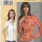 Vogue Sewing Pattern 7903 Womens Plus Size 24W-32W Sandra Betzina Semi-Fitted Shirt Blouse Top