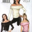 Vogue Sewing Pattern 7997 Misses Sizes 14-16-18-20 Easy Pullover Knit Off-The-Shoulder Top