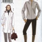 Vogue Sewing Pattern 8433 Misses Sizes 16-24 Easy Pullover Long Sleeve Tunic Top Cropped Pants