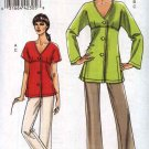 Vogue Sewing Pattern 8503 Misses Sizes 18-24 Easy Button Front Tunic Top Pants