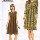 Vogue Sewing Pattern 8509 Misses sizes 8-10-12-14 Easy Inseam Pleated Dress Sleeveless