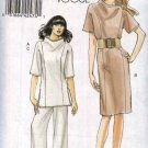 Vogue Sewing Pattern 8512 Misses Sizes 8-16 Easy Lined Princess Seam Dress Tunic Top Pants