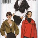 Vogue Sewing Pattern 8522 Misses Sizes 8-16 Easy Lined Cropped Short Long Sleeve Jackets