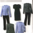 Butterick Sewing Pattern 4355 Misses Sizes 8-14 Wardrobe Jacket Dress Top Pants Skirt Suit
