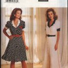 Butterick Sewing Pattern 4369 B4369 Misses Sizes 6-10 Easy Button Front Short Sleeve Flared Dress