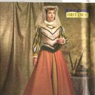 Butterick Sewing Pattern 4375 Misses Size 6-8-10-12 Medieval Renaissance Historical Dress Gown