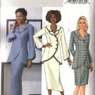 Butterick Sewing Pattern 4388 Misses Size 16-18-20-22 Easy Asymmetrical Double Collar Jacket  Skirt