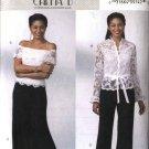 Butterick Sewing Pattern 4392 Misses Size 8-14 Formal Eveningwear Lace Top Long Skirt Pants