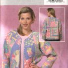 Butterick Sewing Pattern 4400 Misses Sizes 4-14 Quilted Patchwork Jacket