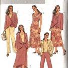 Butterick Sewing Pattern 4402 Misses Size 8-14 Easy Wardrobe Jacket Dress Top Pants Skirt