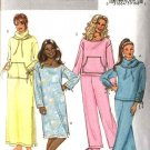 Butterick Sewing Pattern 4405 Misses Size 16-22 Easy Sweatshirt Knit Top Pants Dress Booties