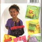 Butterick Sewing Pattern 4410 Girls' Lined Fashion Handbags  Purses Pocketbooks Totes