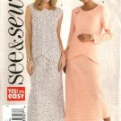 Butterick Sewing Pattern 4424 Misses Size 20-22-24 Easy Pullover Top A-Line Skirt