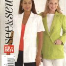 Butterick Sewing Pattern 4428 Misses Size 8-10-12 Easy Button Front Short Long Sleeve Jacket