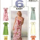 Butterick Sewing Pattern 4444 Misses Size 6-8-10-12 Easy Empire Raised Waist Summer Dress
