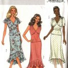 Butterick Sewing Pattern 4445 Misses Size 16-22 Easy Lined Pullover Top Bias Skirt Two-Piece Dress