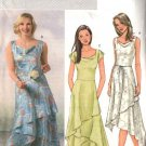 Butterick Sewing Pattern 4448 Misses Size 6-8-10-12 Easy Tiered Sleeveless Summer Dress Belt