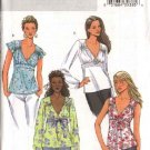 Butterick Sewing Pattern 4454 Misses  Size 6-8-10-12 Easy Raised Empire Waist Pullover Top