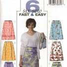 Butterick Sewing Pattern 4461 Misses Size 8-10-12-14 Easy Fitted A-line Skirt