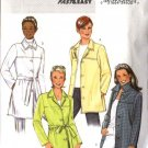 Butterick Sewing Pattern 4463 Misses Size 8-10-12-14 Easy Outdoor Button Front Jacket  Belt