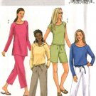 Butterick Sewing Pattern 4465 Misses Size 6-8-10-12 Easy Wardrobe Pullover Top Shorts Pants Hoodie