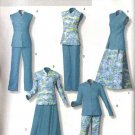 Butterick Sewing Pattern 4524 Misses Size 6-8-10-12 Easy Wardrobe Reversible Top Skirt Pants