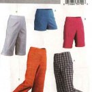 Butterick Sewing Pattern 4552 Misses Size 14-20 Easy Fitted Shorts Cropped Capri Bermuda Pants