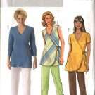 Butterick Sewing Pattern 4553 Misses Size 16-18-20-22 Easy Wrap Front Top Long Cropped Pants