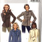 Butterick Sewing Pattern 4611 Misses Size 8-10-12-14 Easy Lined Front Snap Closure Jacket