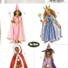 Butterick Sewing Pattern 4631 Girls Size 2-3-4-5 Easy No-Sew Costumes Princess Red Riding Hood