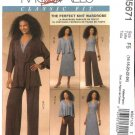 McCall's Sewing Pattern 5671 Misses Size 16-24 Classic Knit Wardrobe Jacket Top Dress Pants