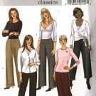 Butterick Sewing Pattern 4662 Misses Size 16-18-20-22 Easy Classic Pants Slacks Trousers