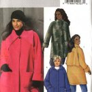 Butterick Sewing Pattern 4671 Woman&#39;s Plus Size 18W-24W Easy Button Front Hooded Fleece Coats