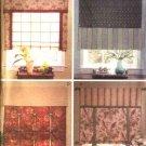 Butterick Sewing Pattern 4678 Waverly Window Shades  Valances