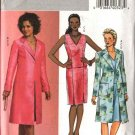 Butterick Sewing Pattern 4683 Misses Size 14-16-18-20 Easy Long Jacket Sleeveless Top Straight Skirt