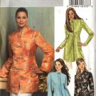 Butterick Sewing Pattern 4688 Misses Size 8-10-12-14 Easy Unlined Long Sleeve Jacket