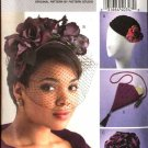 Butterick Sewing Pattern 4695 Evening Formal Hats Bag Handbag Purse