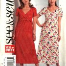 Butterick Sewing Pattern 4705 Misses Size 6-8-10-12 Easy A-line Raised Empire Waist Dress