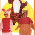 Butterick Sewing Pattern 5172 Boys Girls Size 1-6  Winnie the Pooh Bear Costumes Tigger Piglet