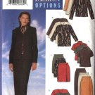 Butterick Sewing Pattern 5236 Misses Size 6-8-10 Easy Wardrobe Jacket Skirts Knit Tops