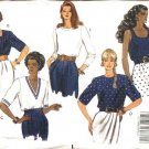 Butterick Sewing Pattern 5278 Misses Size 6-8-10 Easy Classic Pullover Tops Sleeve Neck Variations